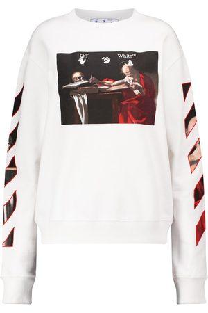 OFF-WHITE Printed cotton sweatshirt