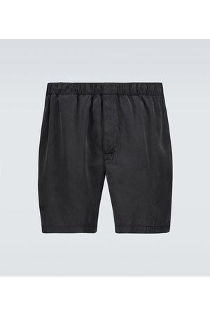 Bottega Veneta Silk twill shorts