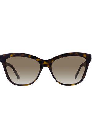Dior Women's 56MM 30Montaigne Butterfly Sunglasses - Dark Havana