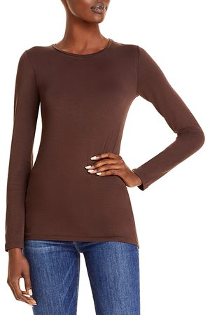 Majestic Soft Touch Long Sleeve Crewneck Tee