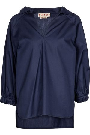 Marni Oversized cotton blouse