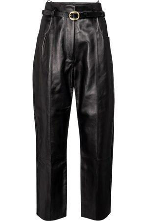 PETAR PETROV Pollis B belted high-rise leather pants
