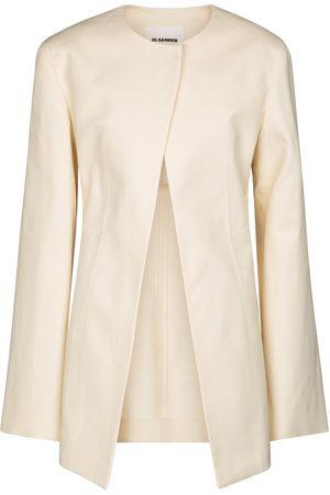 Jil Sander Tailored cotton jacket