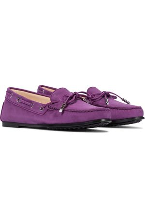 Tod's Women Loafers - City Heaven suede loafers