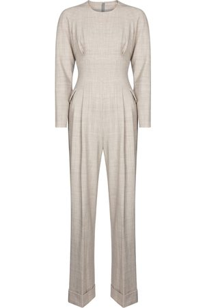 EMILIA WICKSTEAD Women Jumpsuits - Exclusive to Mytheresa – Kara gabardine jumpsuit