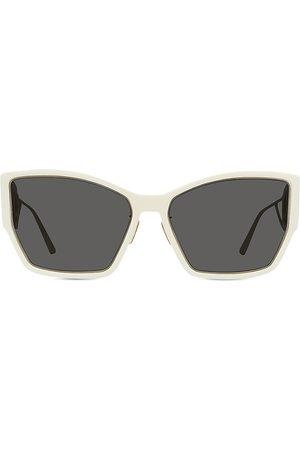 Dior Women's 60MM 30MontaigneInjected Rectangular Sunglasses - Ivory Smoke