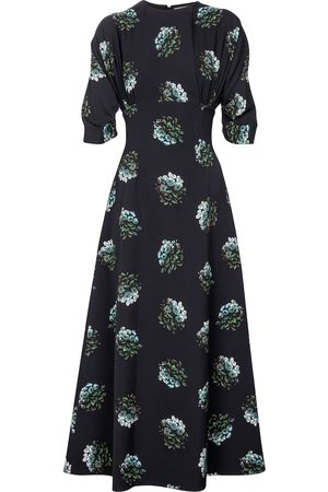 EMILIA WICKSTEAD Olga floral crêpe maxi dress