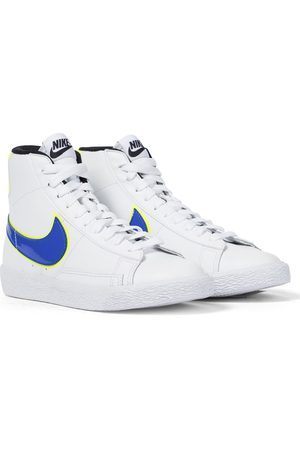 Nike Blazer Mid GS leather sneakers