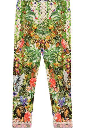Camilla Stretch-knit leggings