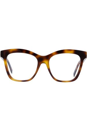 Dior Women Sunglasses - Women's 52MM 30Montaigne Butterfly Eyeglasses - Dark Havana
