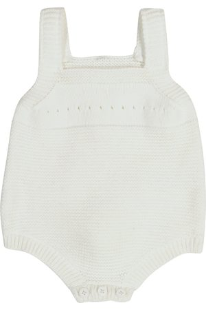 Stella McCartney Baby cotton and wool onesie