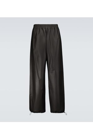 Bottega Veneta Wide-leg leather pants