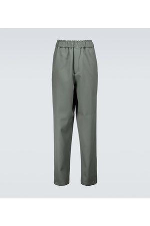 Jil Sander Flat front wool pants