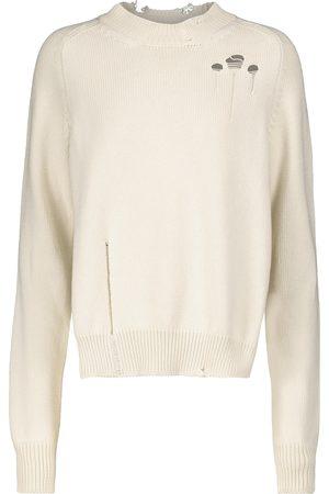 Maison Margiela Distressed cotton sweater