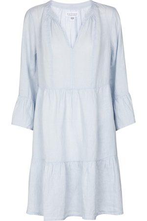 Velvet Aurora linen minidress