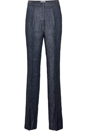 GABRIELA HEARST Vesta high-rise straight linen pants