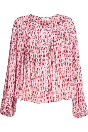 Isabel Marant Women's Sorionea Printed Blouse - - Size 42 (10)