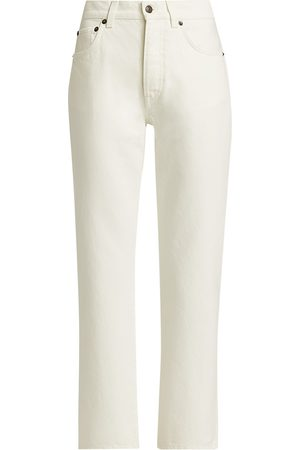 The Row Women's Lesley Straight-Leg Jeans - - Size 10