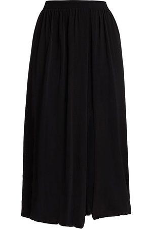 Altuzarra Women's Lilac Vented Midi Skirt - - Size Medium