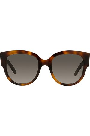 Dior Women's 54MM Wil Butterfly Sunglasses - Blonde Havana