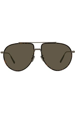Dior Women's 58MM BlackSuit Pilot Sunglasses - Havana