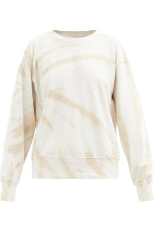 Les Tien Women Sweatshirts - Tie-dye Brushed-back Cotton Sweatshirt - Womens