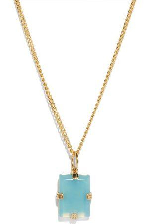 MIANSAI Lennox Agate & Gold-vermeil Necklace - Mens