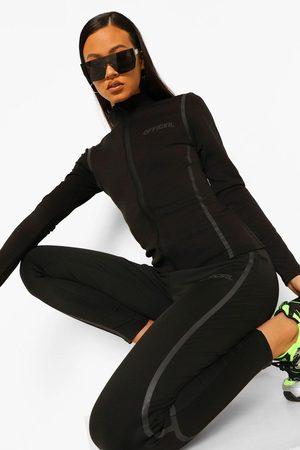 Boohoo Womens Tonal Reflective Running Jacket - - 4