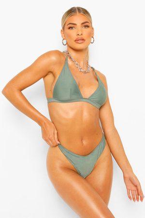 Boohoo Womens Essentials Hipster Cheeky Bikini Brief - - 2