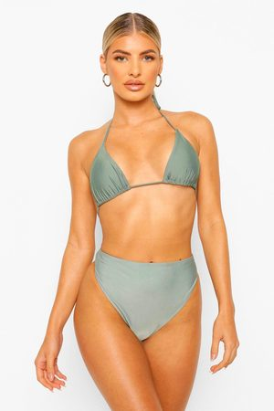 Boohoo Womens Essentials Mix And Match Itsy Bitsy Bikini Top - - 2