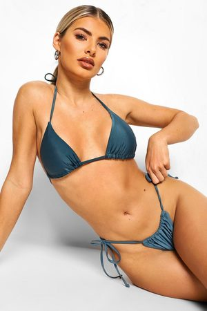 Boohoo Womens Essentials Mix And Match Itsy Bitsy Bikini Top - - 4