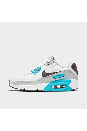 Nike Boys' Big Kids' Air Max 90 Casual Shoes in Size 4.0 Leather