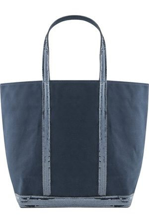 Vanessa Bruno Women Purses - Medium + Canvas And Sequins Cabas With Zip
