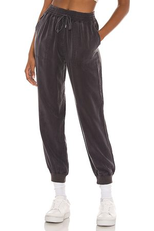 BLANK NYC Tencel Jogger in Charcoal.