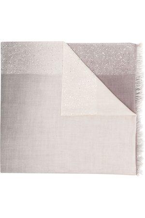 Faliero Sarti Lia sequin-embellished scarf - Grey
