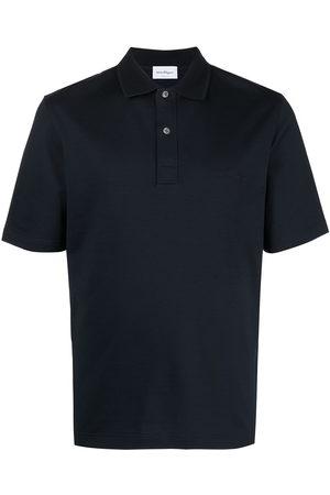 Salvatore Ferragamo Logo-embroidered polo shirt