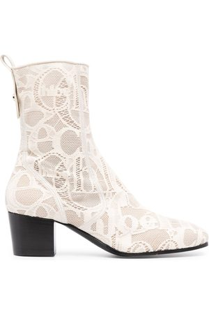Chloé Goldee lace ankle boots