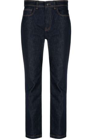 PORTS 1961 Straight-leg dark wash jeans