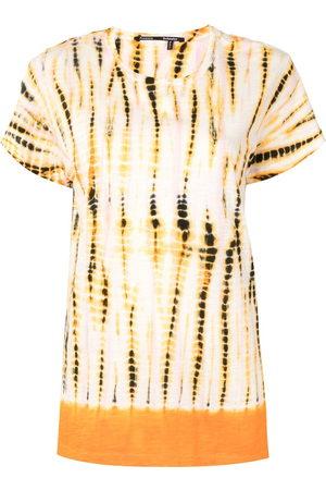 Proenza Schouler Tie-dye print T-shirt - Neutrals