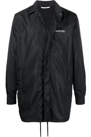 VALENTINO Logo print shirt jacket