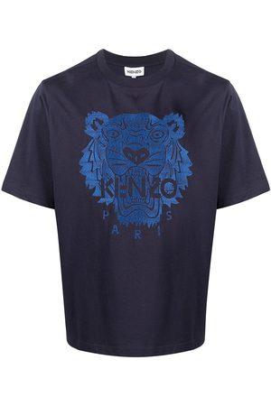 Kenzo Men Short Sleeve - Embroidered Tiger short-sleeve T-shirt