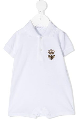 Dolce & Gabbana Rompers - Bee crown embroidered body