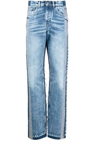 Maison Margiela Panelled high-rise jeans