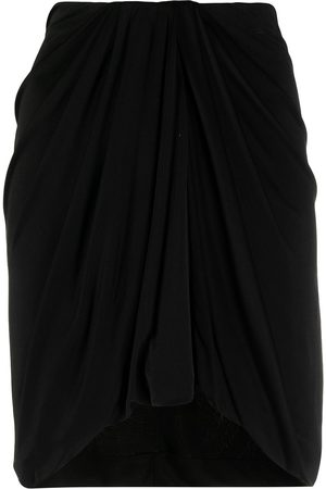 Isabel Marant Women Mini Skirts - High-waisted draped miniskirt