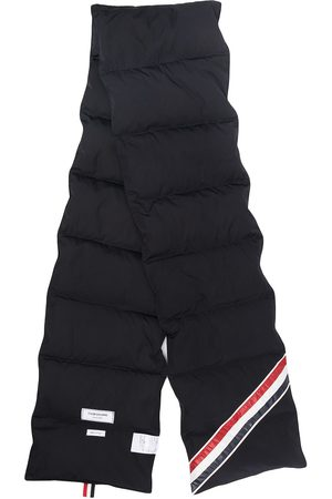 Thom Browne Downfilled stripe scarf