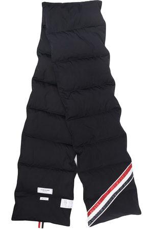 Thom Browne Downfilled stripe scarf