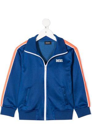 Diesel Chest logo tracksuit jacket