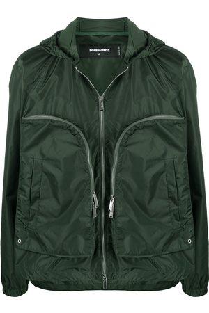 Dsquared2 Oversize zip pocket lightweight jacket