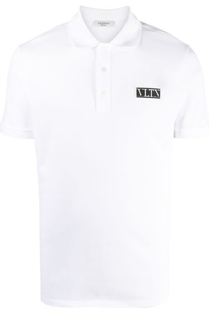 VALENTINO VLTN logo patch polo shirt