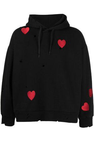 Natasha Zinko Heart-embroidered hoodie